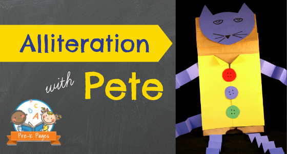 Alliteration with Pete the Cat