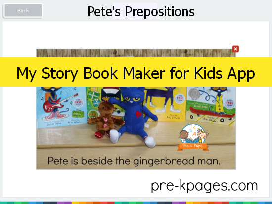 My Story Book Maker for Kids App #preschool #kindergarten #app