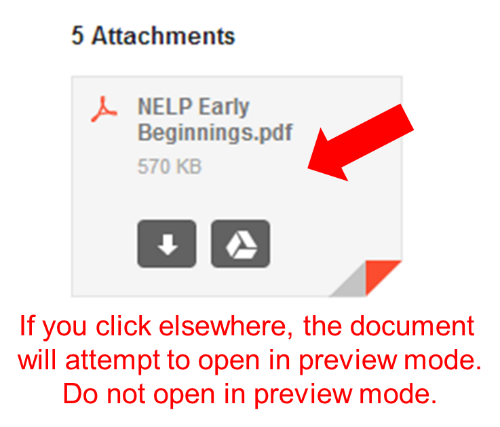 Avoid opening documents in preview mode
