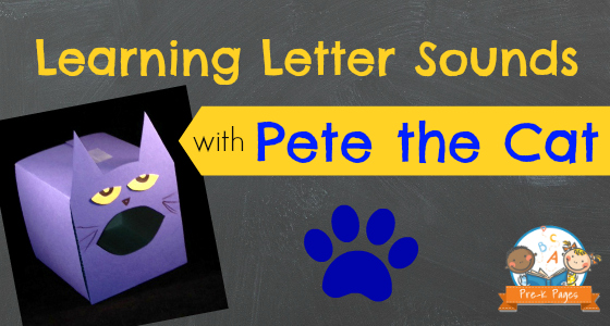 Learning Letter Sounds with Pete the Cat