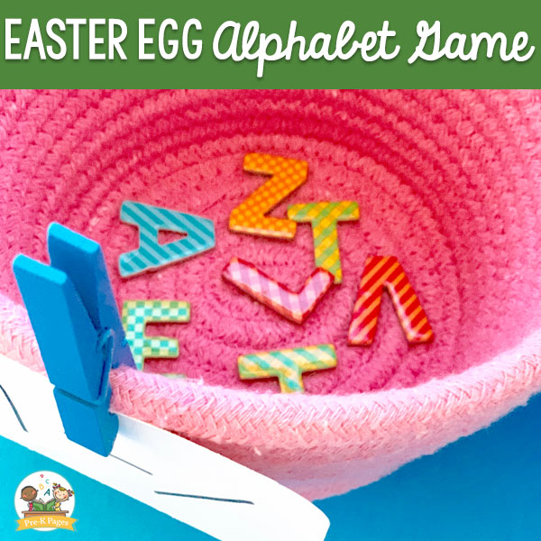 Easter Egg Visual Discrimination Activity #preschool
