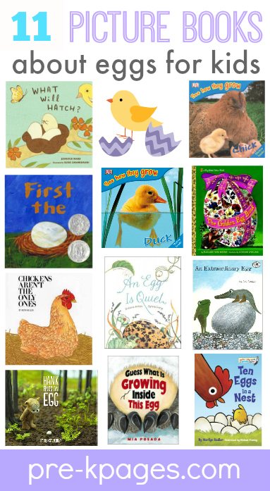 Image of: Hands Books About Eggs Prek Pages Learning About Eggs