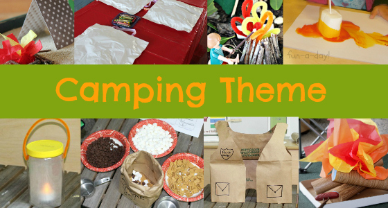 Preschool Camping Theme Activities