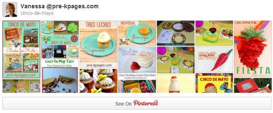 Cinco de Mayo Pinterest Board