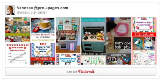 Dramatic Play Pinterest Board