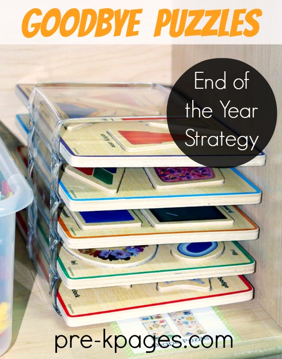 End of the Year Tip for Packing Your Classroom in Preschool and Kindergarten