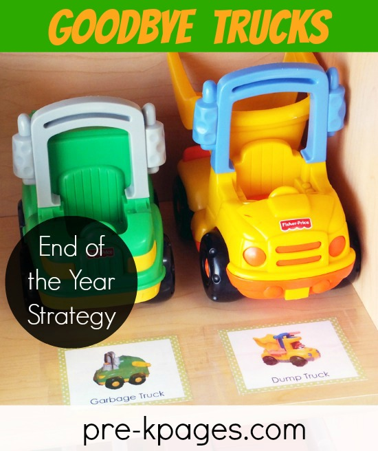 End of the Year Teacher Tip for Packing Your Preschool or Kindergarten Classroom