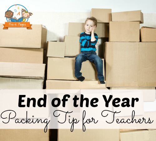 End of the Year Packing Tips for Teachers
