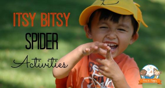 Itsy Bitsy Spider Activity