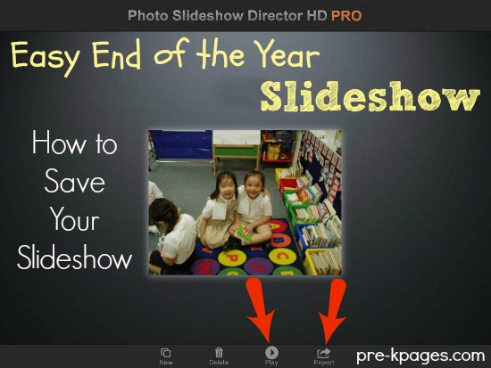 How to Save Your Graduation Slideshow