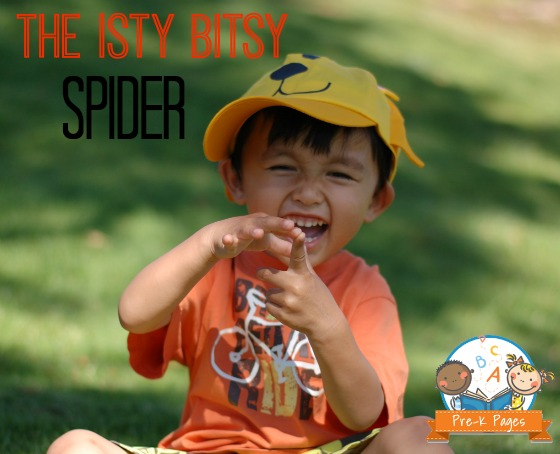 The Itsy Bitsy Spider Activity for #preschool