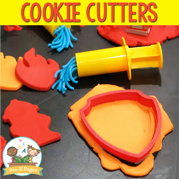 Cookie Cutters for the Play Dough Center