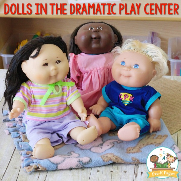 Dramatic Play Center Dolls
