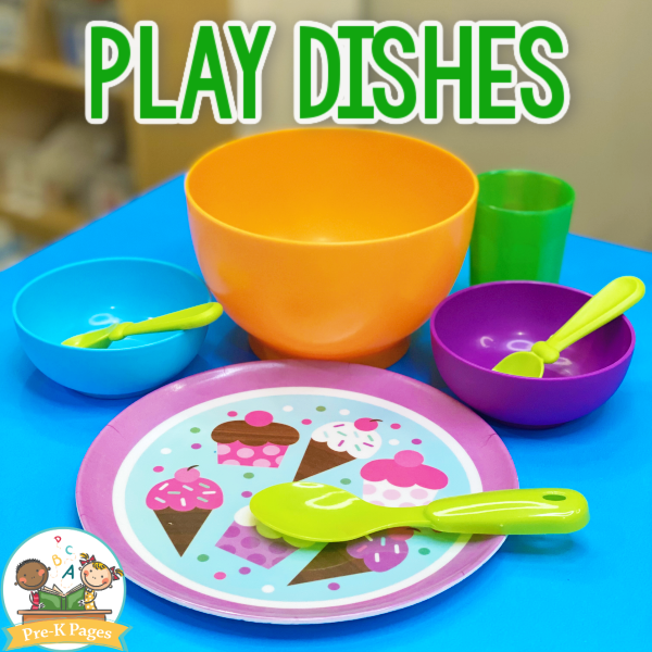 Play Dishes for Dramatic Play