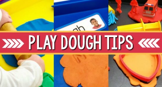Play Dough Center Set Up Ideas