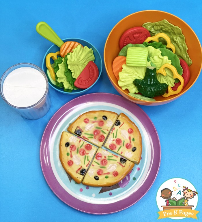 Pretend Food for Dramatic Play Center