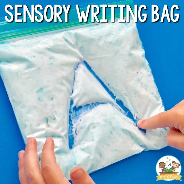 Sensory Writing Bag
