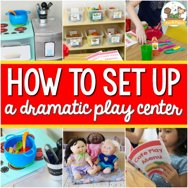 Setting Up a Preschool Dramatic Play Center