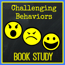 Challenging Behaviors Book Study Button