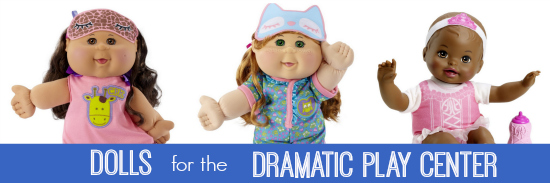 Dolls for Dramatic Play