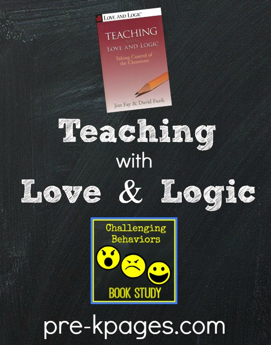 Challenging Behaviors Book Study: Teaching with Love and Logic