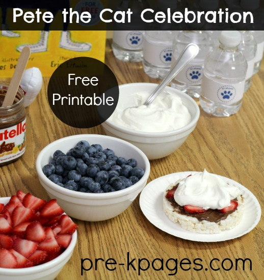 Pete the Cat Classroom Party