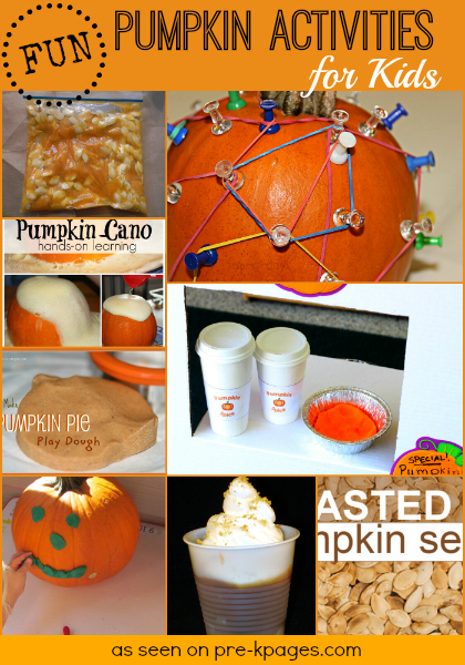 Fun Pumpkin Activities for Kids