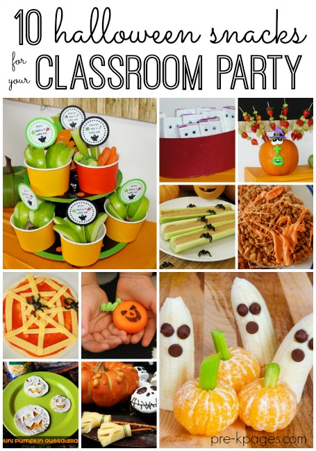 Healthy Halloween Party Snacks Non Candy Treats For Preschool