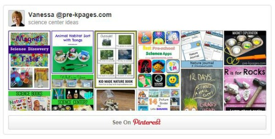 Science Center Pinterest Board
