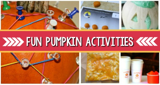 14 Pumpkin Activities for Preschool