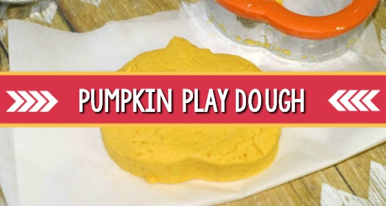 Classroom Recipes: Pumpkin Playdough (2 Ingredients)