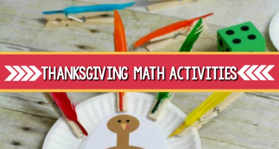 Thanksgiving Math Activities for preschool