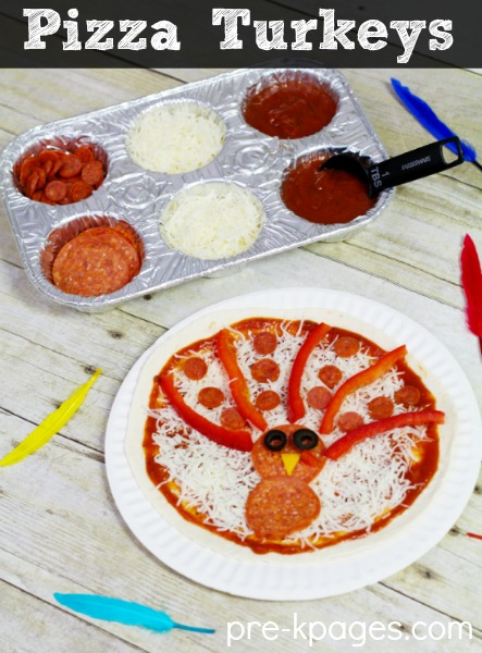 Pizza Turkey Snack for Kids