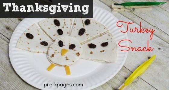 Classroom Recipes: Thanksgiving Turkey Snacks