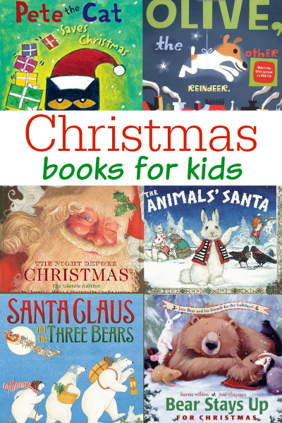 christmas books for preschool and kindergarten