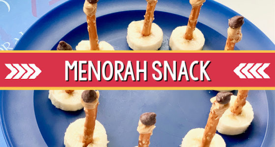 Classroom Recipes: Hanukkah Menorah