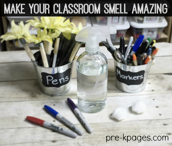 How to Make Your Classroom Smell Amazing