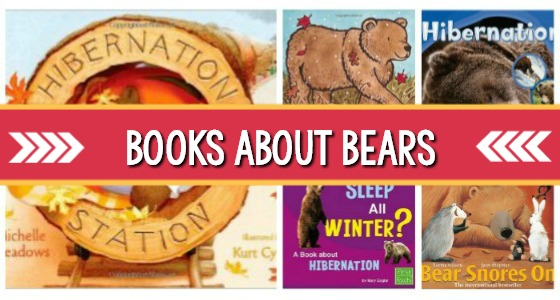Bear and Hibernation Books for Preschool