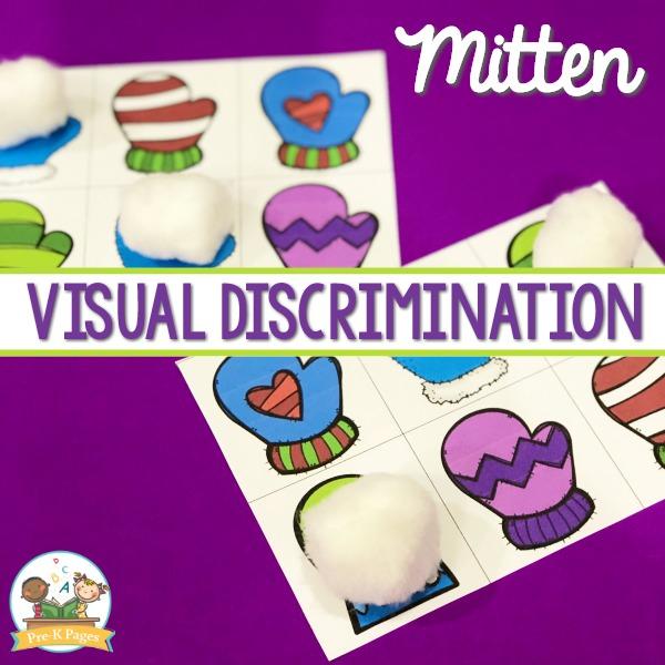 Mitten Visual Discrimination