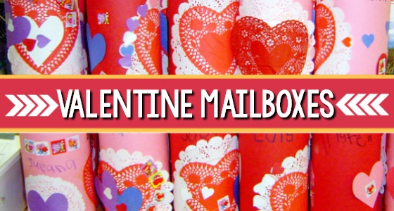 Valentine Mailboxes for Preschool