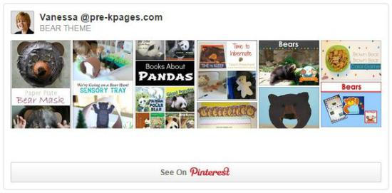 Bear Pinterest Board