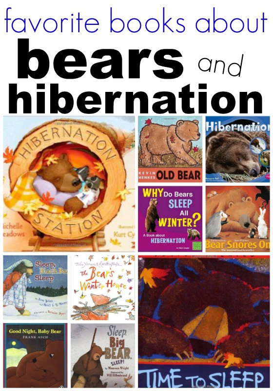 Books About Bears for Preschoolers