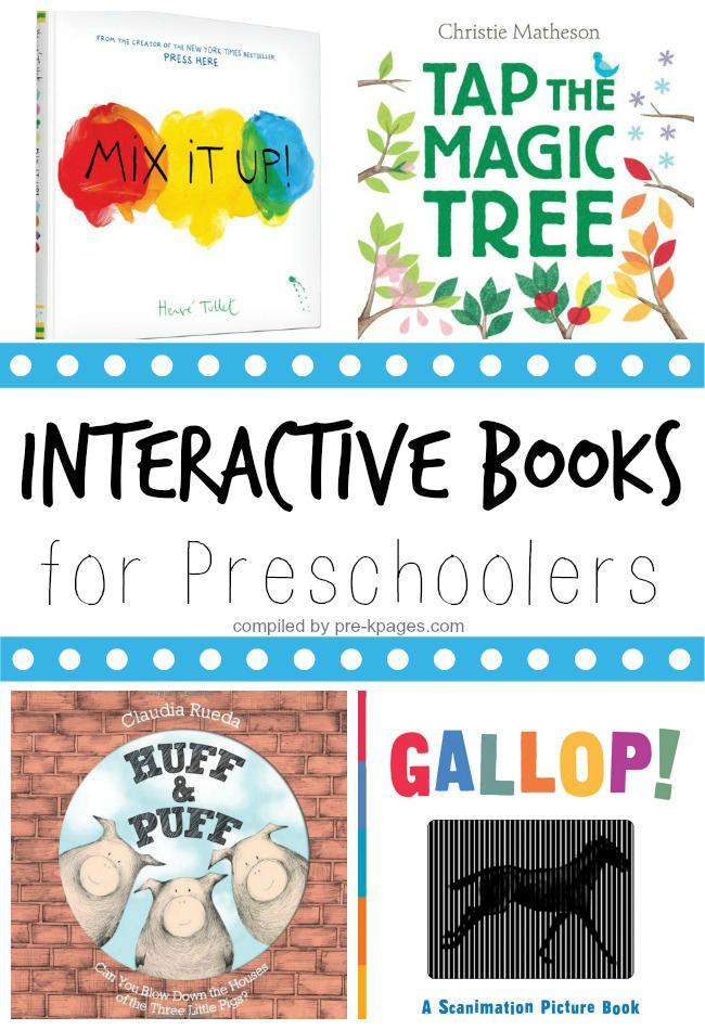 Interactive Books for Preschoolers