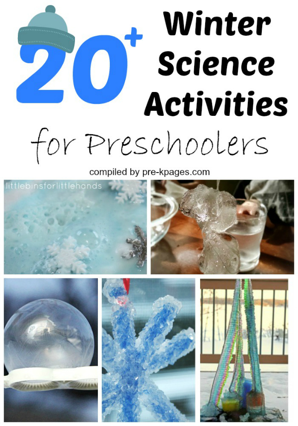 20 Winter Science Activities for Preschoolers