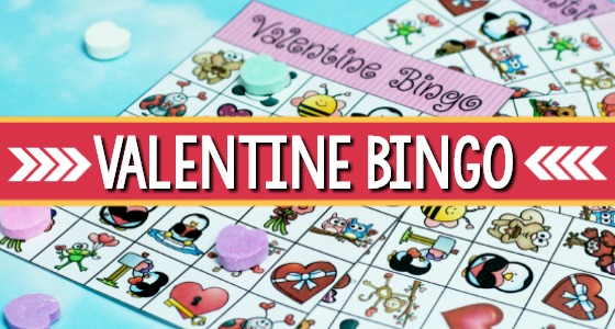 graphic regarding Printable Valentine Bingo Cards called Printable Valentine Bingo Sport for Preschool
