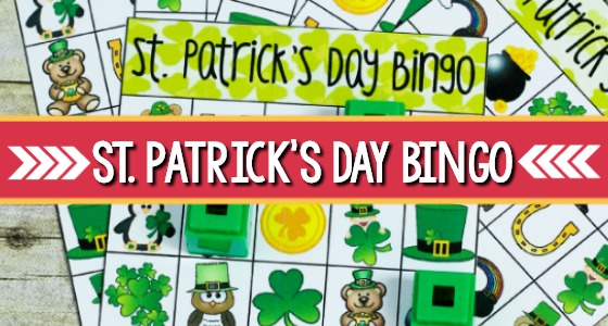 Printable St. Patricks Day Bingo