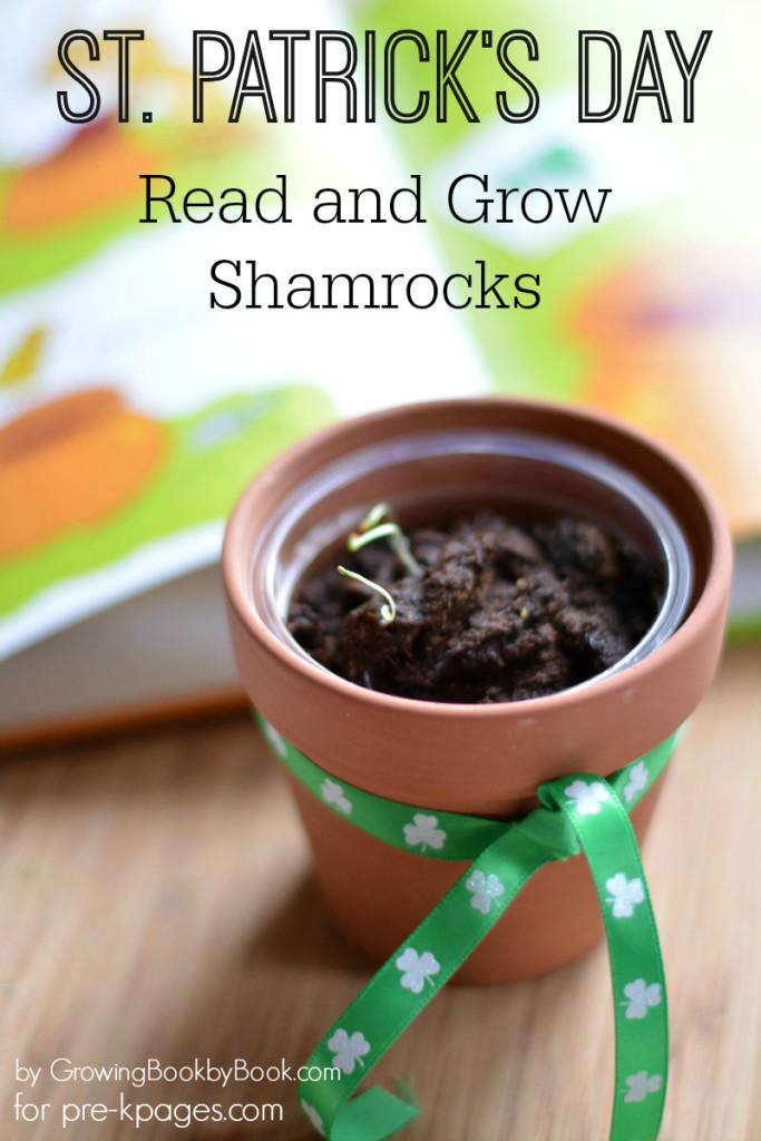 Planting Shamrocks Activity for Preschool and Kindergarten