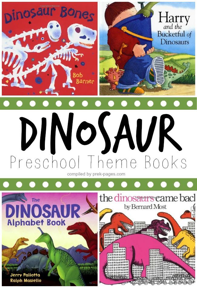 Preschool Dinosaur Theme Books