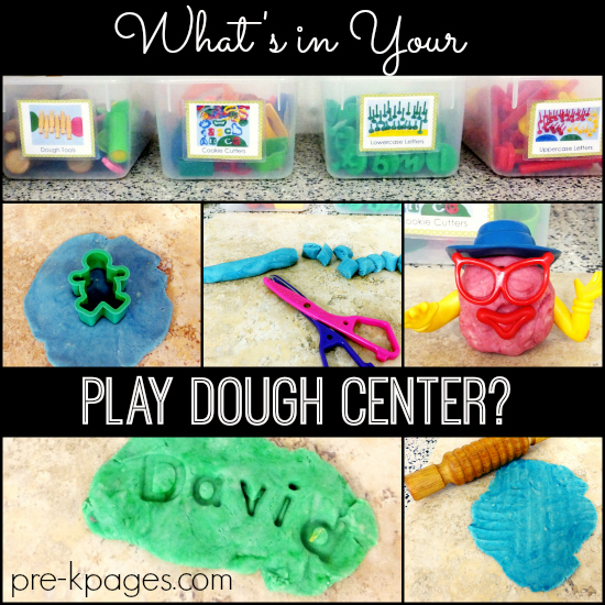 what in your play dough center