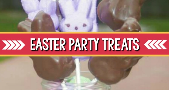 Easter Party Chocolate Dipped Peeps